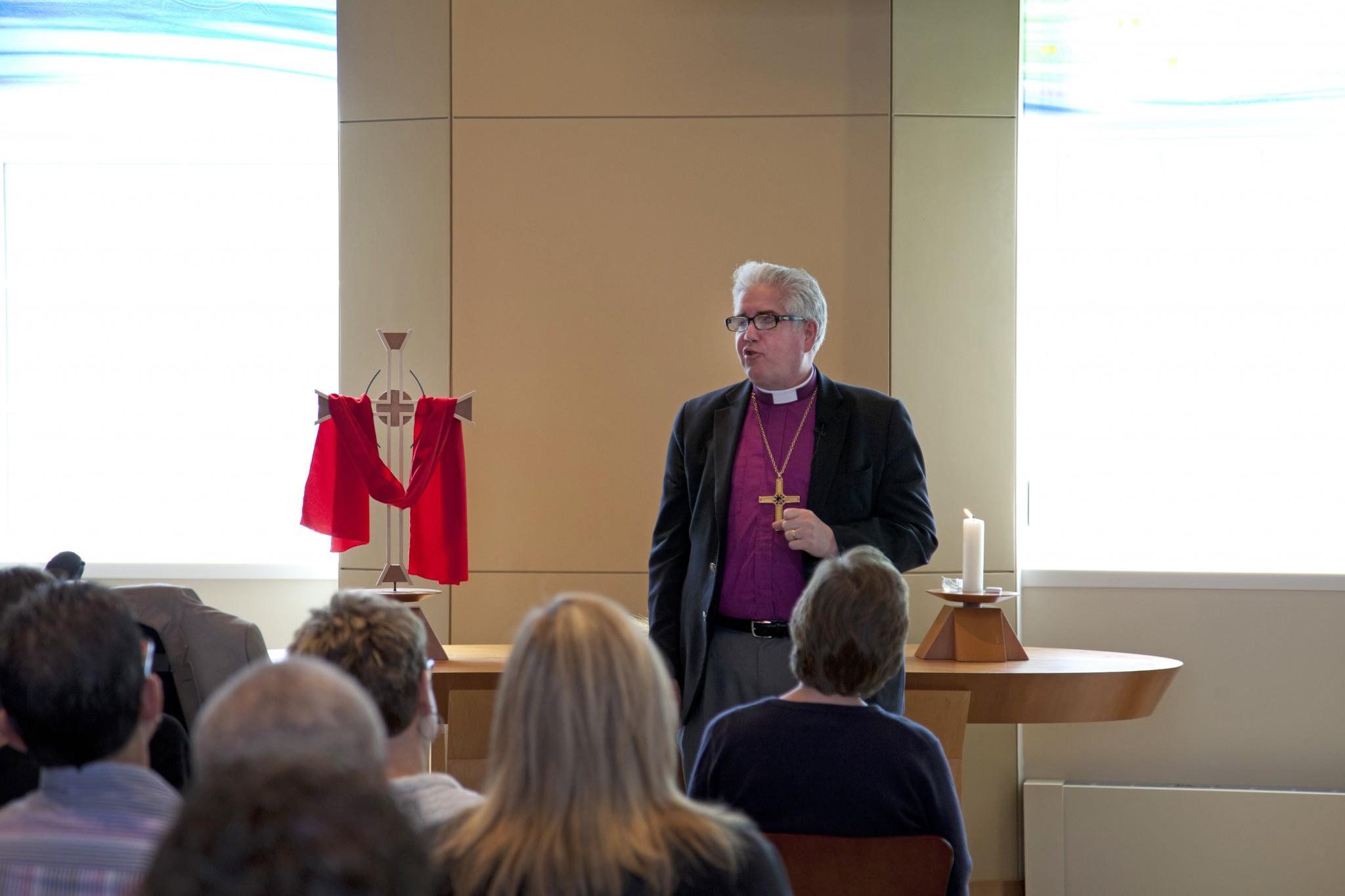 Bishop Craig Satterlee