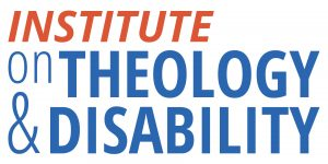 Logo for the Institute on Theology and Disability